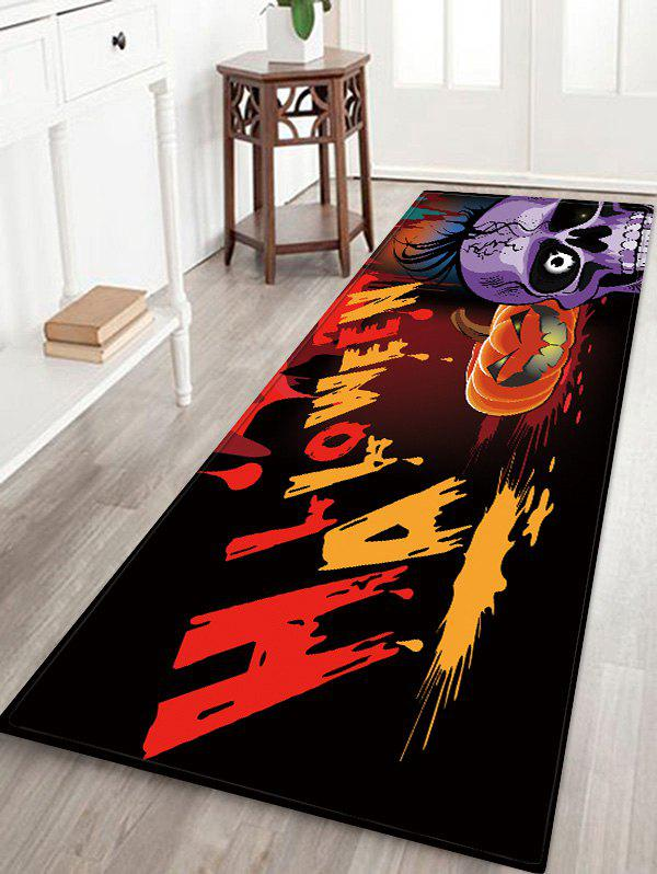 Hot Halloween Pumpkin Print Anti-skid Area Rug