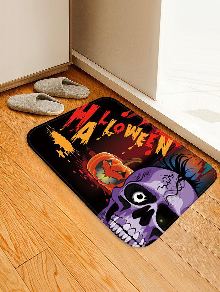 Fancy Halloween Pumpkin Print Anti-skid Area Rug