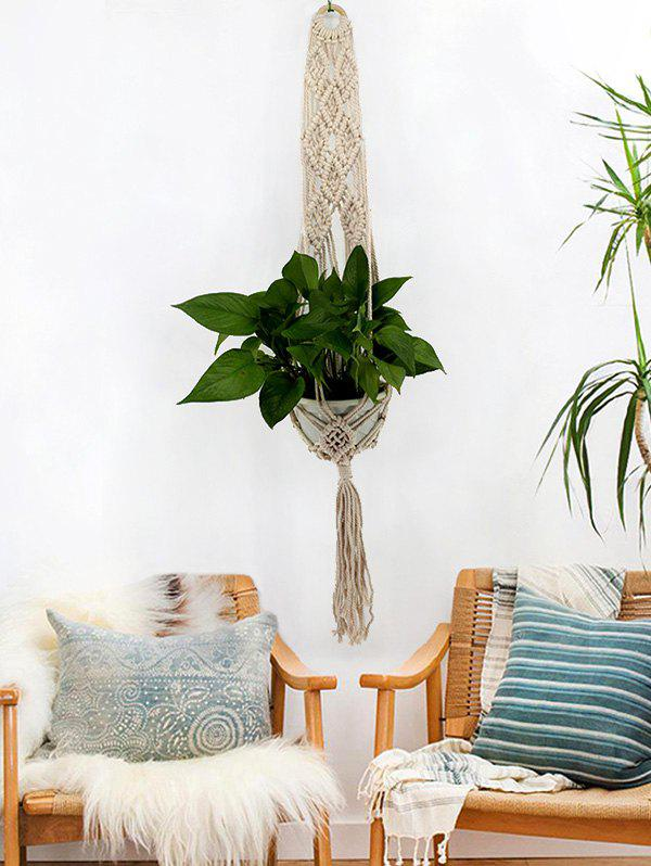 Online Handmade Macrame Plant Hanging Basket for Plant Pot