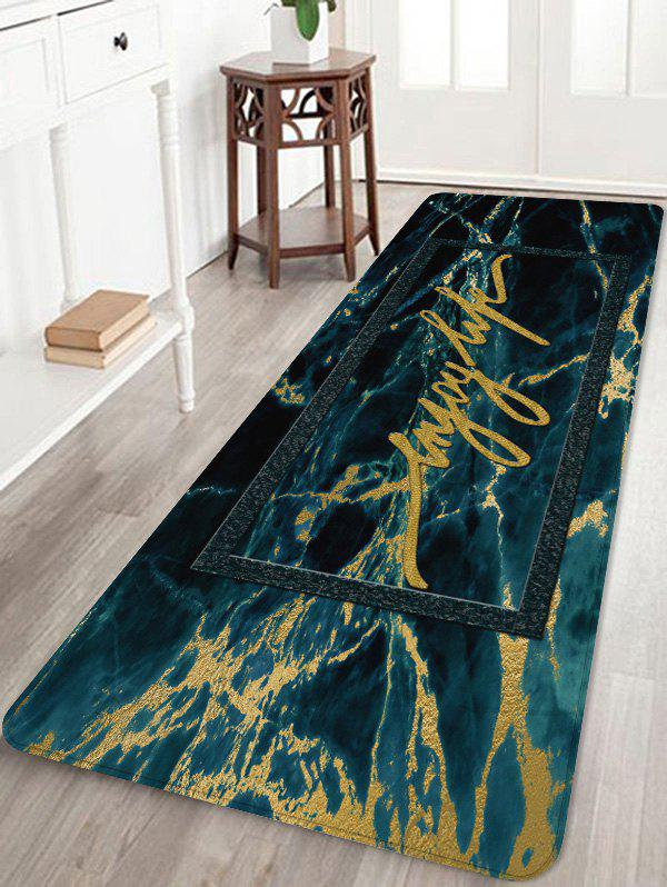 Trendy Marble Pattern Absorption Floor Mat