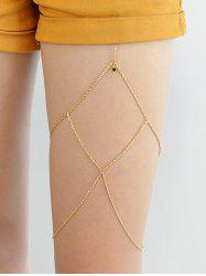 Body Jewelry Multi Layer Leg Chain -
