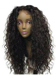 Long Center Parting Water Wave Synthetic Wig -