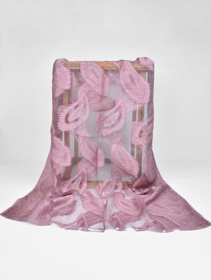 Chic Stylish Feather Long Sheer Scarf