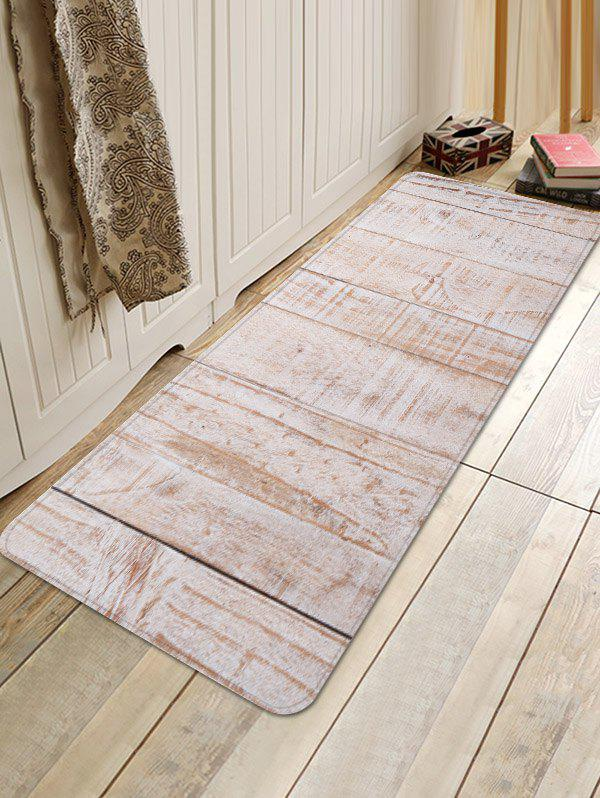 New Wood Flooring Pattern Water Absorption Area Rug