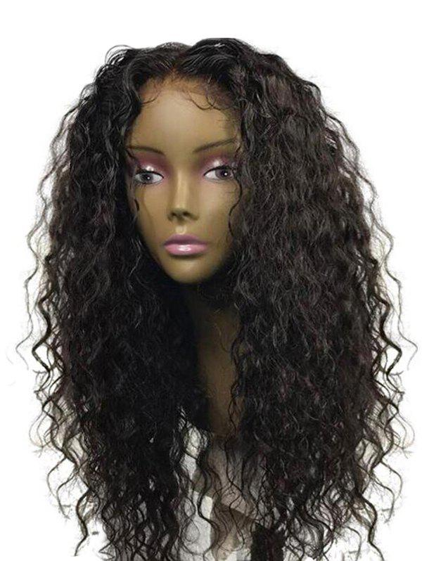 Hot Long Center Parting Water Wave Synthetic Wig