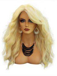 Side Parting Long Wavy Capless Synthetic Wig -