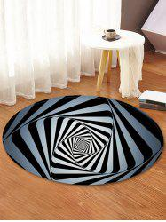 Vector Seamless Pattern Anti-skid Round Floor Mat -