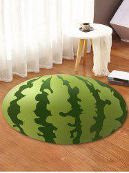 Watermelon Print Anti-skid Round Floor Mat -