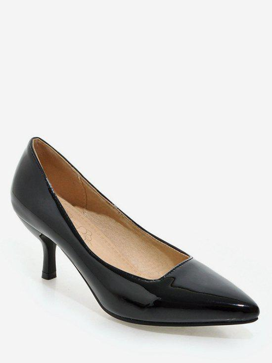 Affordable Plus Size Mid Heel Pointed Toe Chic Prom Pumps
