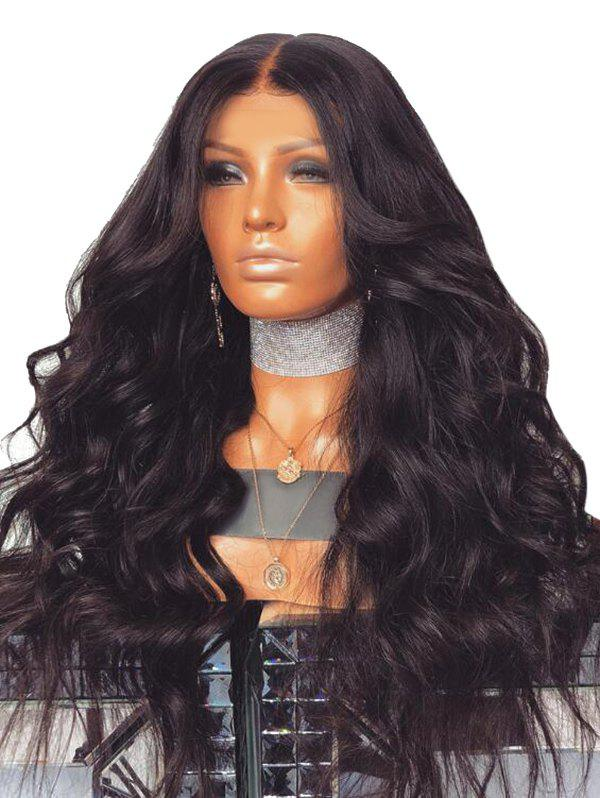 Latest Long Center Parting Body Wave Synthetic Wig