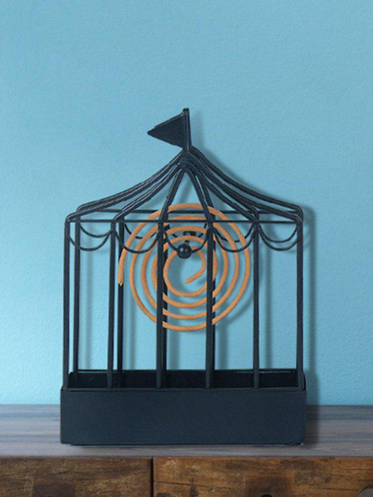 Cheap Iron Cage Shape Mosquito Coil Holder Home Decor