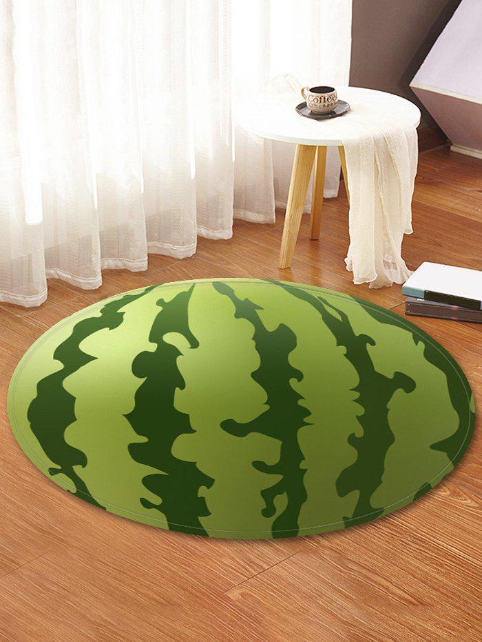 Best Watermelon Print Anti-skid Round Floor Mat