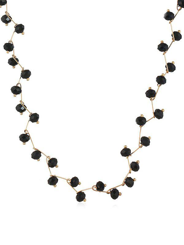 Buy Faux Crystal Collarbone Necklace