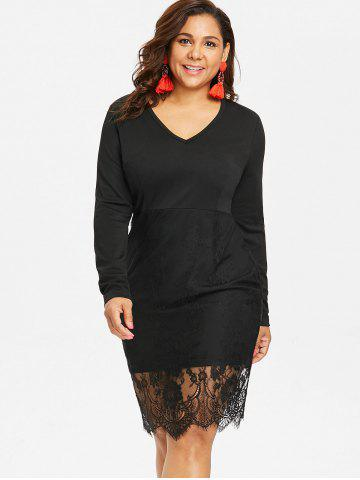 Black Long Sleeve Bodycon Midi Dress Free Shipping Discount And