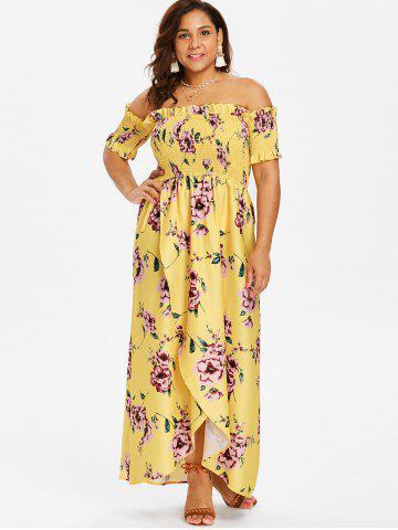 20c7dc6ed9cc Yellow Off Shoulder Dress - Free Shipping
