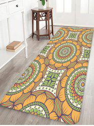 Bohemian Flower Printed Area Mat -