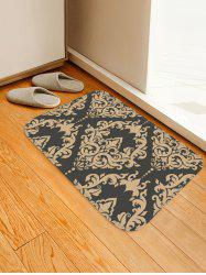 Flower Totem Printed Antiskid Area Mat -
