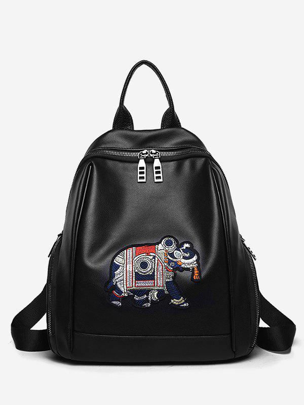 Outfits Leisure All Purpose Embroidery Travel Backpack