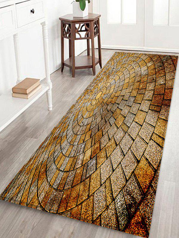Outfits Stone Floor Pattern Water Absorption Area Rug