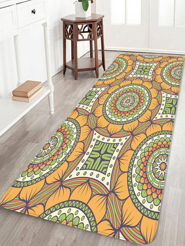 Hot Bohemian Flower Printed Area Mat