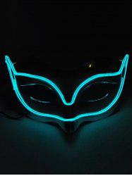 Fox Shape EL Glowing Mask Halloween Cosplay -