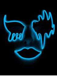 EL Glowing Mask Halloween Cosplay Party -