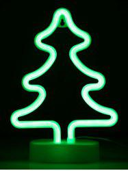 Christmas Tree LED Neon Light with Holder -