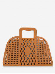 Hollow Out Chic All Purpose Tote Bag -