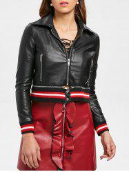 Jacket with Removable Zipper Hem -