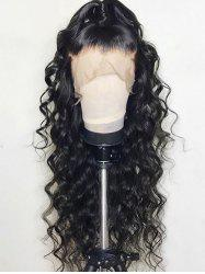 Loose Free Part Long Wave Synthetic Lace Front Wig -