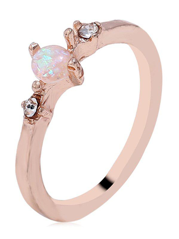 Latest Artificial Gemstone Skinny Ring