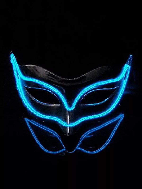 New Fox Shape EL Glowing Mask Halloween Cosplay