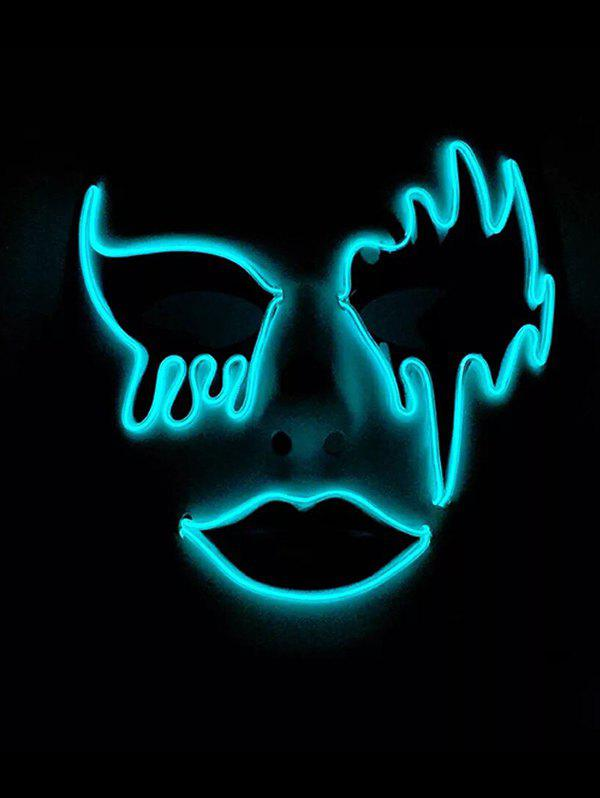 EL Glowing Mask Halloween Cosplay Party