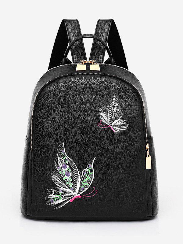 Buy Casual Top Handle PU Leather Backpack
