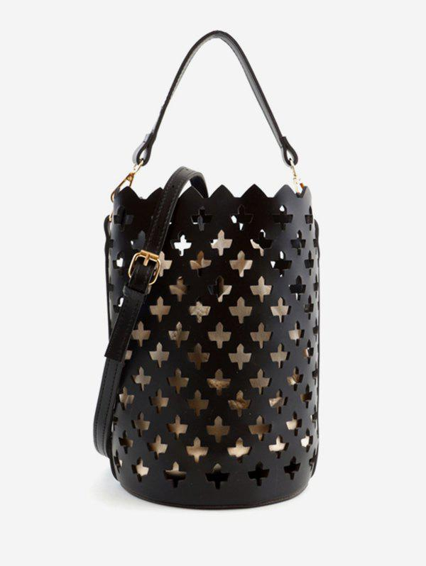 New Hollow Out Scallop Chic Convertible Crossbody Bag