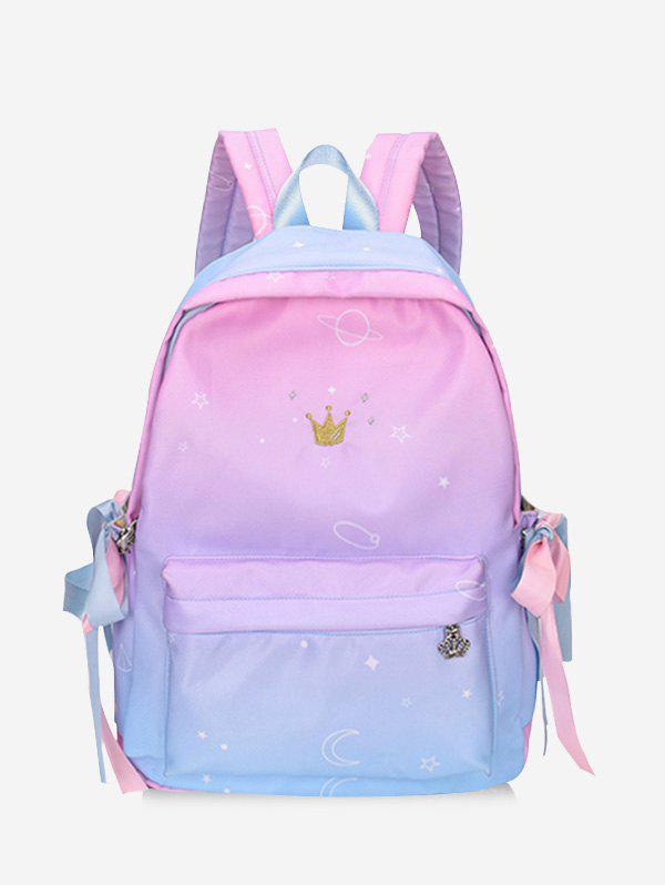 Hot Zip Front Pocket School Backpack
