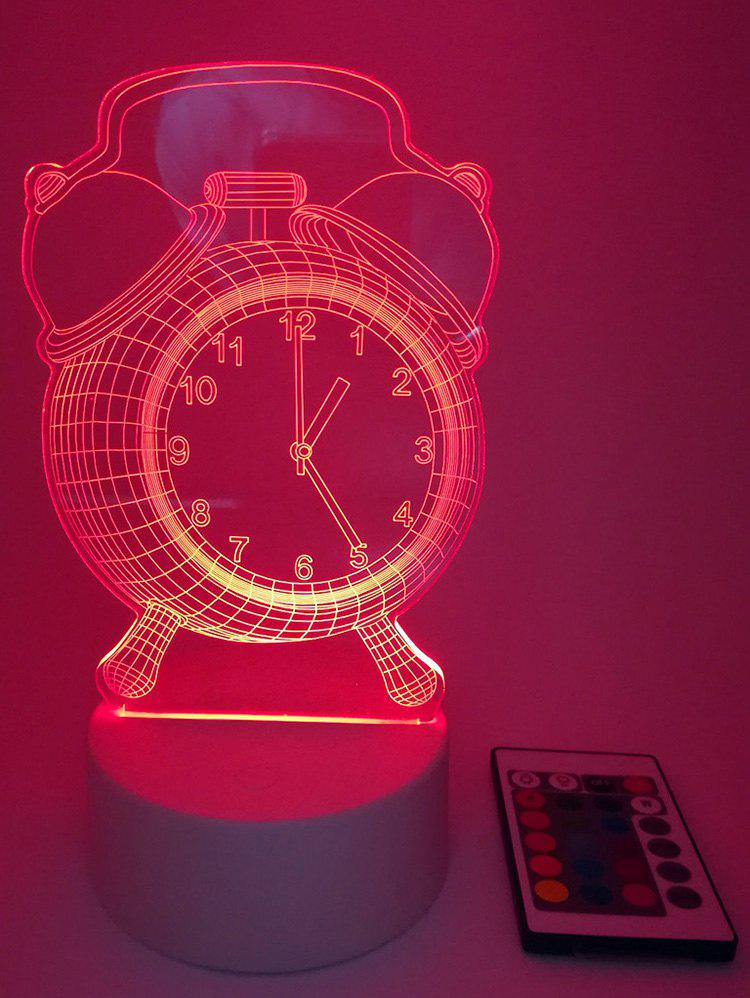 Fancy Colors Changing Clock LED Night Light with Controller
