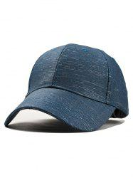 Vintage Colorblock Adjustable Baseball Cap -