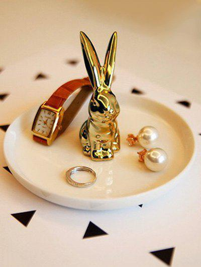 Online Ceramic Rabbit Ring Holder Trinket Dish