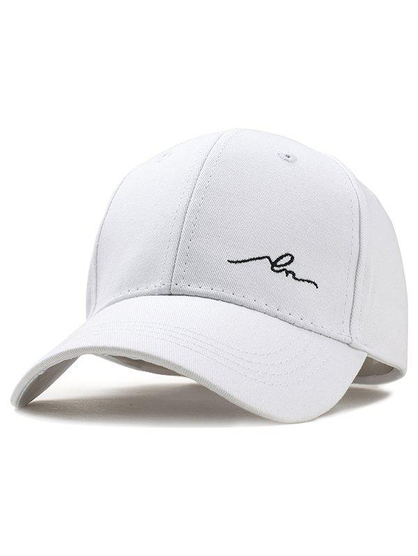 Casquette de Baseball Ajustable Broderie Simple
