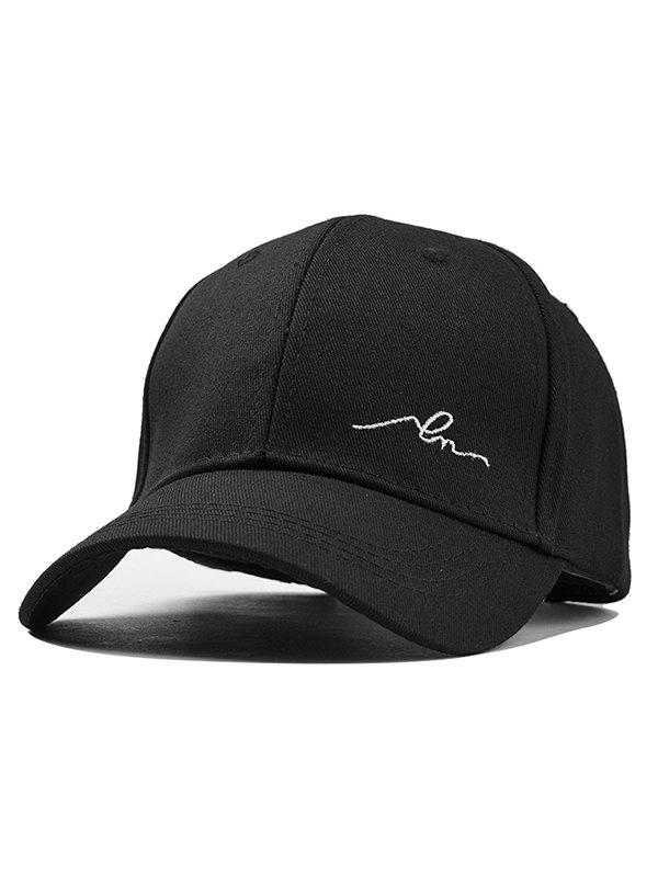 New Simple Embroidery Adjustable Baseball Cap