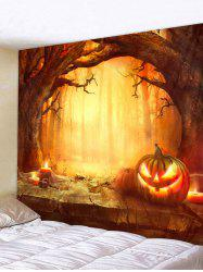 Halloween Pumpkin Tapestry Wall Decoration -