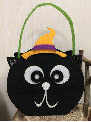 Halloween Pumpkin Witch Cat Owl Shape Candy Handbag -