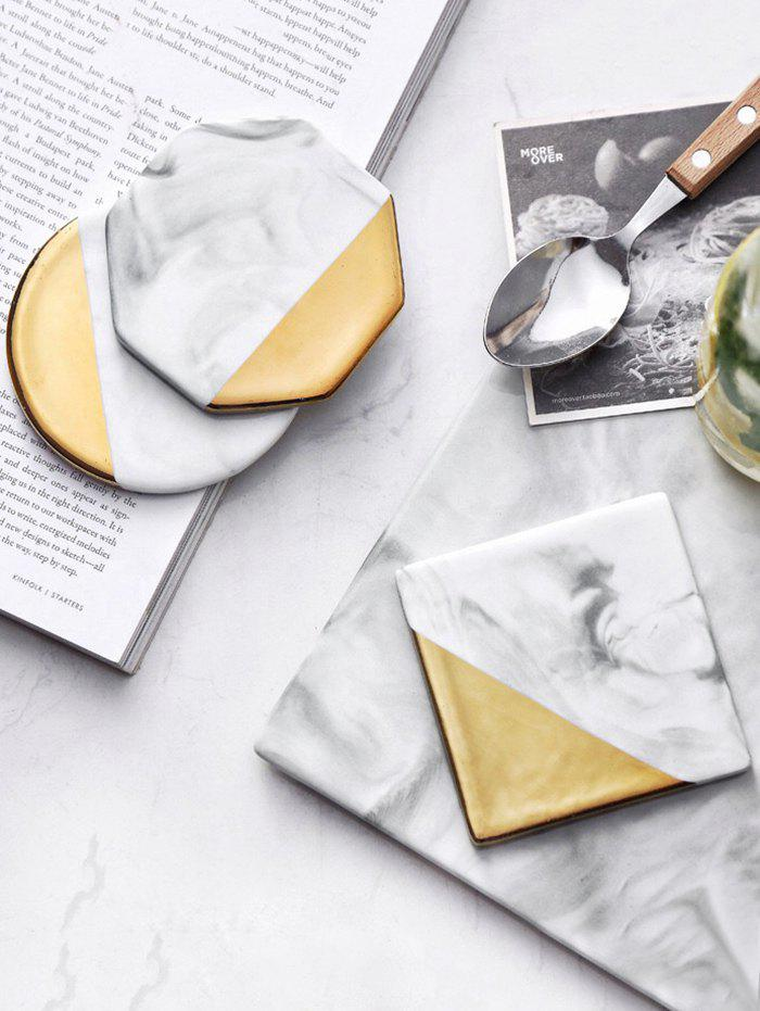 New Marble Pattern 3 Pcs Ceramic Coasters