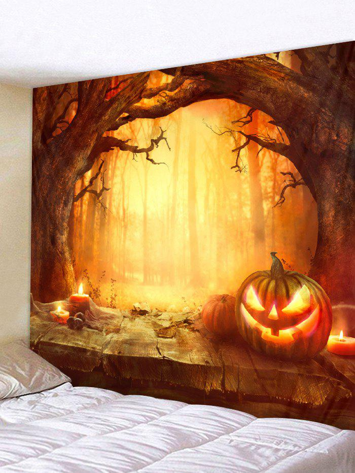Hot Halloween Pumpkin Tapestry Wall Decoration