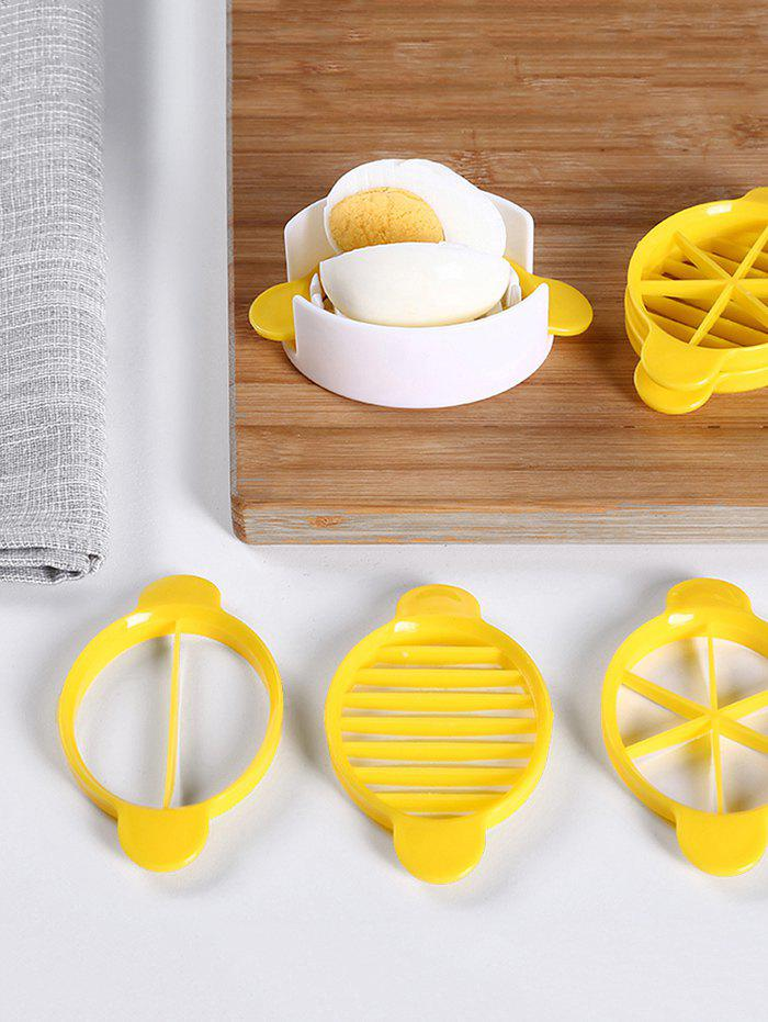 Outfit Kitchen Tool 3 In 1 Egg Cutter