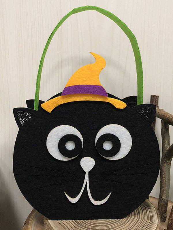 Shop Halloween Pumpkin Witch Cat Owl Shape Candy Handbag