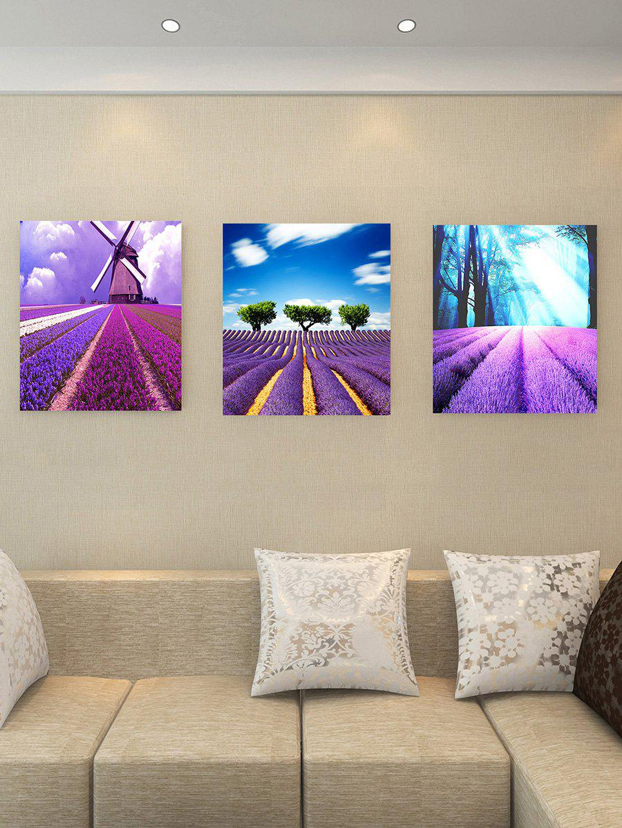 Shops Lavender Field Print Removable Canvas Wall Art