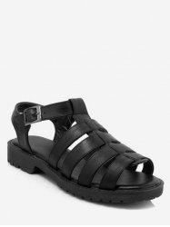 Plus Size Strappy Casual Holiday Sandals -