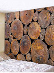 Wooden Print Tapestry Wall Decoration -